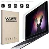 """Midkart Clear Tempered Glass For New MacBook Pro 13"""" 13.3 Inches Model A1706 / A1708 With/Without Touch Bar Screen Guard Protector Anti-Fingerprint & Bubble-Free"""