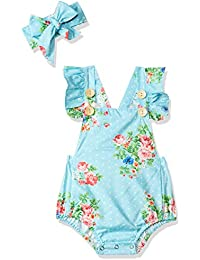 24a69a8fd Amazon.in: Blues - Bodysuits / Baby Girls: Clothing & Accessories