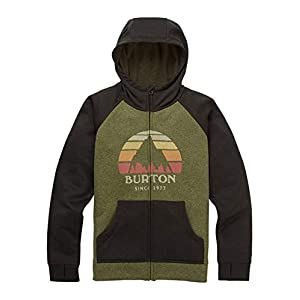 Burton Jungen Oak Full-Zip Hoodie