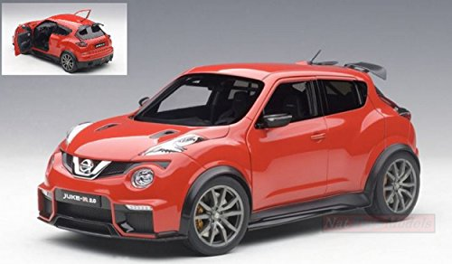 AUTOART AA77457 NISSAN JUKE R 2.0 2016 RED 1:18 MODELLINO DIE CAST MODEL (Nissan Auto Kit Model)