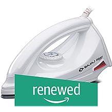 (Renewed) Bajaj Majesty DX 6 1000-Watt Dry Iron (White)