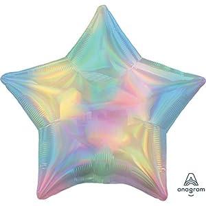 Amscan International Anagram 3940701 - Globo de papel de aluminio (forma de estrella)