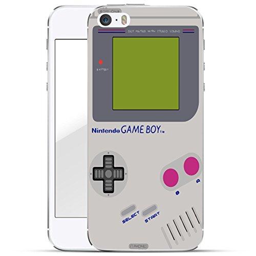 S Hard Case Handy-Hülle mit Motiv | dünne stoßfeste Schutz-Cover Tasche in Premium Qualität | Premium Case für Dein Smartphone| Gameboy (Iphone 5 Case Gameboy)