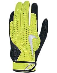 Gants de batteurs de base-ball Nike Vapor Elite Pro - Volt/Black/Volt/Silver
