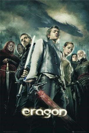 Laminierte Eragon-Das Vermächtnis der Drachenreiter Movie-One Sheet