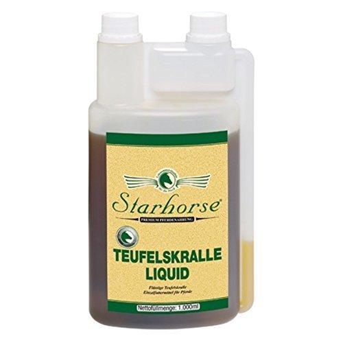 Starhorse Teufelskralle Liquid 1 L Dosierflasche für Pferde Bewegungsapparat