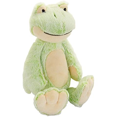 Babies R Us Plush 11.5 inch Two Tone Frog by Babies R Us