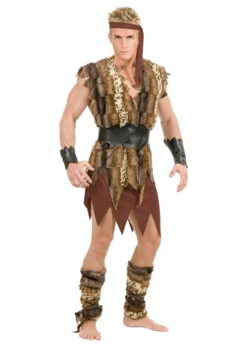 Cool Caveman Fancy Dress Costume X-Large