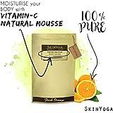 Skinyoga 100% Natural Skincare For Body Whitening Skinyoga Fresh Orange Body Scrub - Best Luxury Beauty Product With Pure Ingredients - 100% Vegan, Vegetarian, Halal Cosmetic -Full Size 200Gms