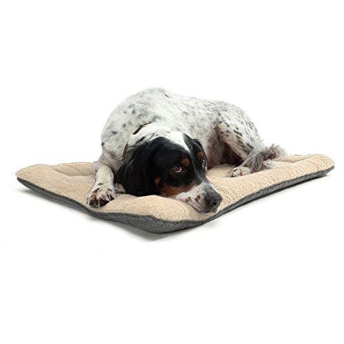 TFENG Hundebett, Waschbar Soft Plüsch Hundematte Hundekissen, Comfort Matte Hundedecken für Hunde,...