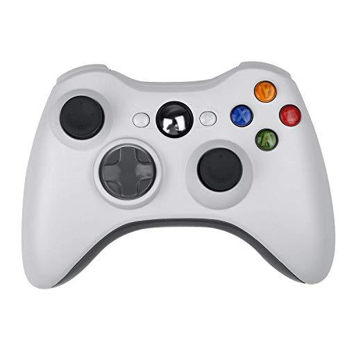 oller,CamKing Xbox 360 Wireless Bluetooth Controller Neue Drahtlose Entfernten Pad-Game-Controller für Microsoft Xbox 360 PC/Windows 7 XP Whit Joypad (Weiß)(Weiß) ()