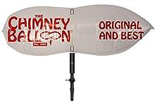 38 x 38cm Ballonnet de cheminée anti-courants d'air pour cheminée avec tube de gonflage à bouche libre