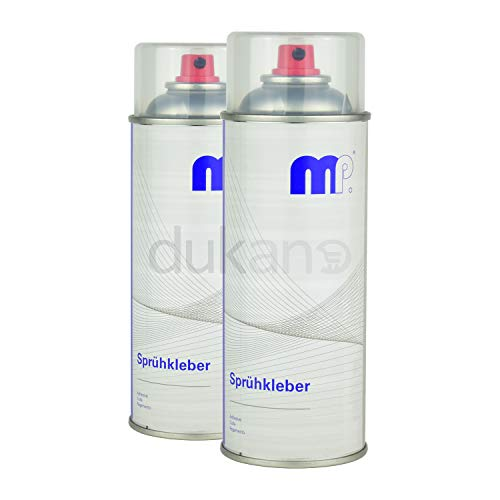 2x MP Sprühkleber Kraftsprühkleber Kontaktkleber Autohimmel Dachhimmel Kleber Spray