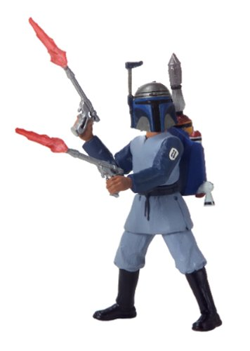 Hasbro - 84863 - Star Wars Boba Fett Kamino Escape Figur - Attack Of The Clones (Boba Fett Jetpack)