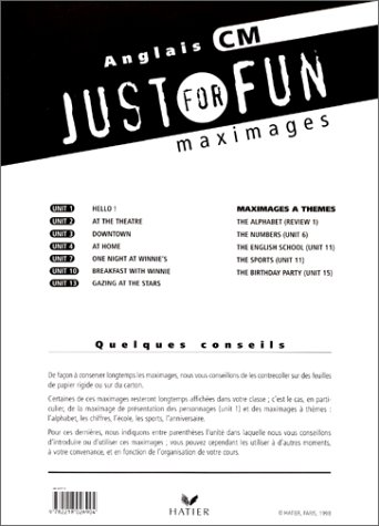JUST FOR FUN CM MAXIMAGE