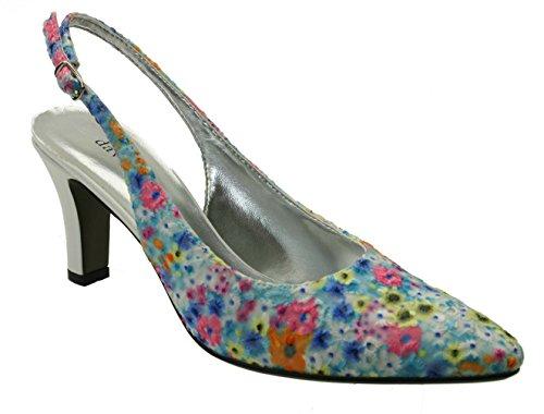 David Tate Women's Lace Shoe Bright Multi 7.5 N (AA)