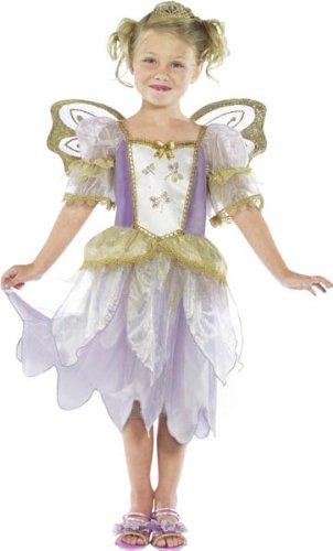 Smiffys Kinder Feen-Prinzessin, Kleid und Flügel, Größe: S, 36331