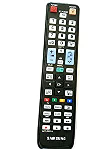E-touch AA59–00431A Télécommande de remplacement pour SMART TV, TV LED 3D Samsung modèles : UE55D7000 3D UE46D7000 UE40D7000LS UE40D8000YS, 3D, UE46D8000.