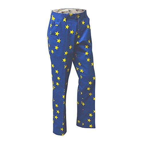 Royal & Awesome Herren Pants Herren Golf Hose - Eurostar, Eurostar, 34