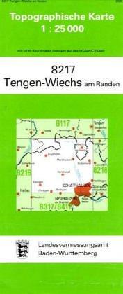 Tengen-Wiechs am Randen 1 : 25 000