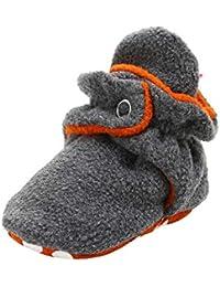 Zapatos Bebe Primeros Pasos, Amphia Infant Newborn Cotton Shoes Cozy Fleece Booties Non Skid Bottom