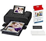Canon SELPHY CP1300 Photo Printer with FOC 36 Papers, Black