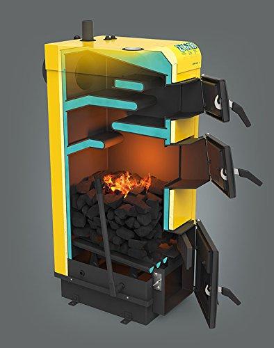 KSW alfa Kohle Multifuel Festbrennstoffheizkessel 24 kW Kohle-Herd-Brenner