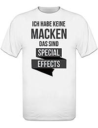 Ich habe keine Macken das sind Special Effects T-Shirt by Shirtcity