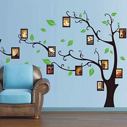 Stickers adhésifs Arbres | Sticker Autocollant Arbre porte-cadres - Décoration murale chambres et séjours | 90 x 60 cm