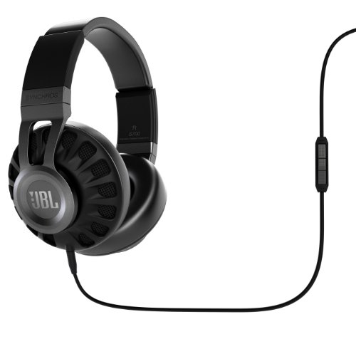 JBL Synchros S700 Premium Powered Over-Ear Stereo Headphones Black