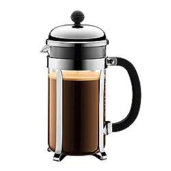 Bodum 1928-16 chambord Kaffeebereiter, 1,0 l / 34 oz - glänzend