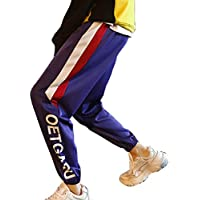 cheyuan Hombres Letra Impresión En Color Contraste Pantalones Microelásticos Caminatas Al Aire Libre Caminatas Pantalones A Media Cintura