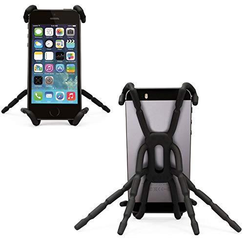 Porum Spinnen-Handy-Halterung, Smartphone-Halterung, flexibel, tragbar, Verstellbarer Griff, Halterung für TracFone ZTE Quartz 4G LTE