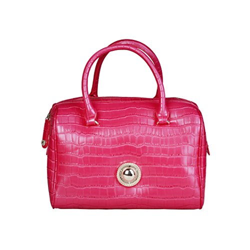 Versace Jeans Borsa Donna c Dis.7 Cocco Rosa
