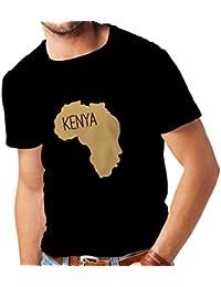 Camisetas Hombre Salvar Kenia - Camisa política 26aaf3346a72c