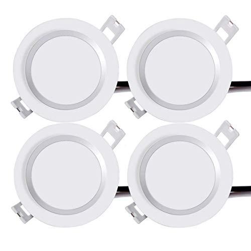 AROC LED Downlight Redondo Empotrable Lámpara de Techo IP65 Impermeable Panel Lámpara...