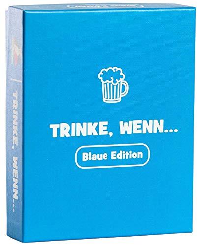 Trinke, wenn.. Das witzige Geschenk für Männer und Frauen - Spiele für Erwachsene als lustiges Geburtstagsgeschenk - Trinkspiele Saufspiel Scherzartikel