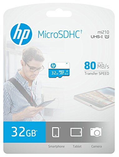 HP 32GB MicroSD Class 10 Memory Card