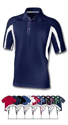 ChampionHerren Poloshirt Blanc/écarlate