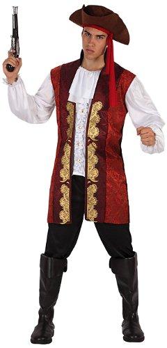 Imagen de atosa  disfraz de pirata para hombre, talla 52  54 11867