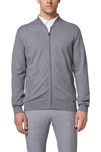 ESPRIT Collection Herren 078EO2I005 Pullover, Grau (Medium Grey 035), XX-Large - Medium Grey Collection