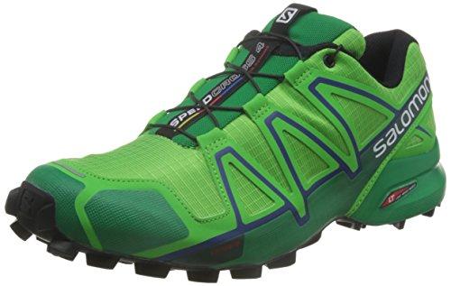 Salomon Speedcross 4, Scarpe da Trail Running Uomo Green
