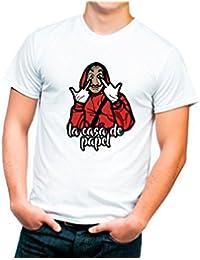 Camiseta Diseño la Casa Papel. Consultar Medidas en la Descripción de ...