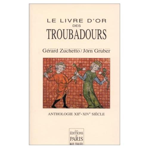 Le Livre d'or des Troubadours