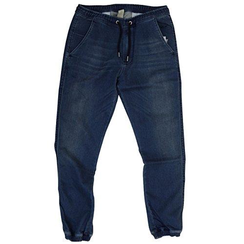 Reell Männer Joggjeans Hose Reflex dunkelblau - fällt etwas grösser aus Deep Blue