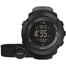 Suunto Ambit3 Vertical  HR - Reloj GPS de entrenamiento, unisex, color negro, talla M