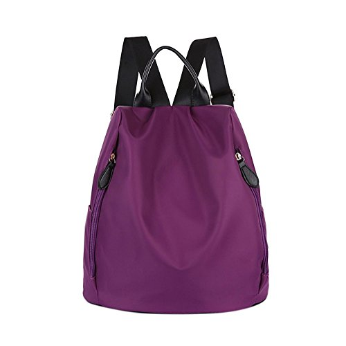 nero Borsa 1 zainetto donna Purple a Remeehi JXQ01937 Black 6qaXwRx