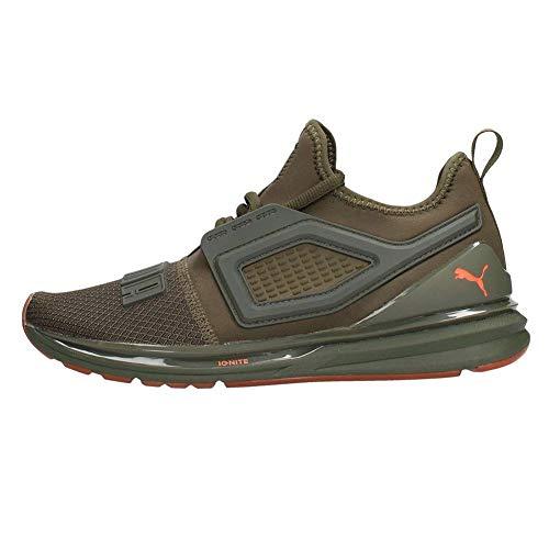 Puma sneakers ignite limitless 2 unrest verde arancio 191295-01 (45 - verde)