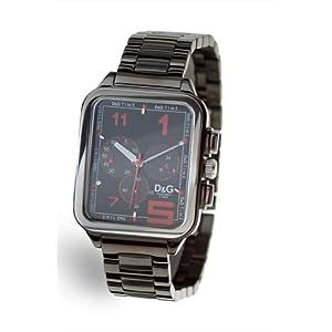 Dolce & Gabbana D&G – Reloj Manual para Hombre con Correa