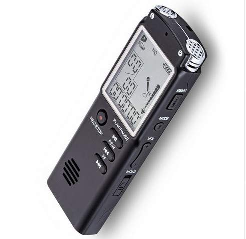 Digitales Diktiergerät, Geräuschaktivierte Aufnahme, 8Gb USB, Wiederaufladbarer Akku, A-B Aufnahme Voice-Recorder Fu?R Meetings, Vortra?Ge, Interviews - Ge Digital Recorder